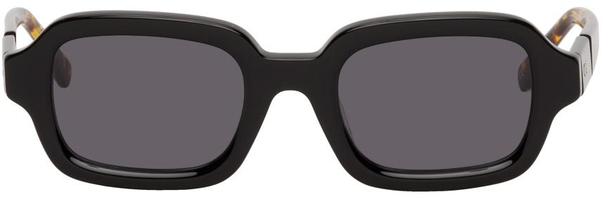 Black & Tortoiseshell Shy Guy Sunglasses
