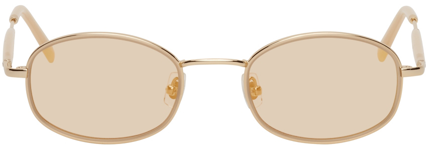 Gold No. 7 Sunglasses