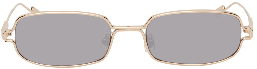 Gold Mirror Petrichor Sunglasses