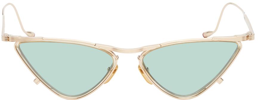Gold Niki Sunglasses