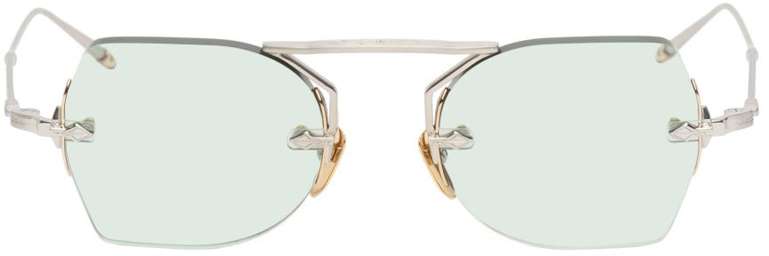 Silver & Gold Yuma Sunglasses