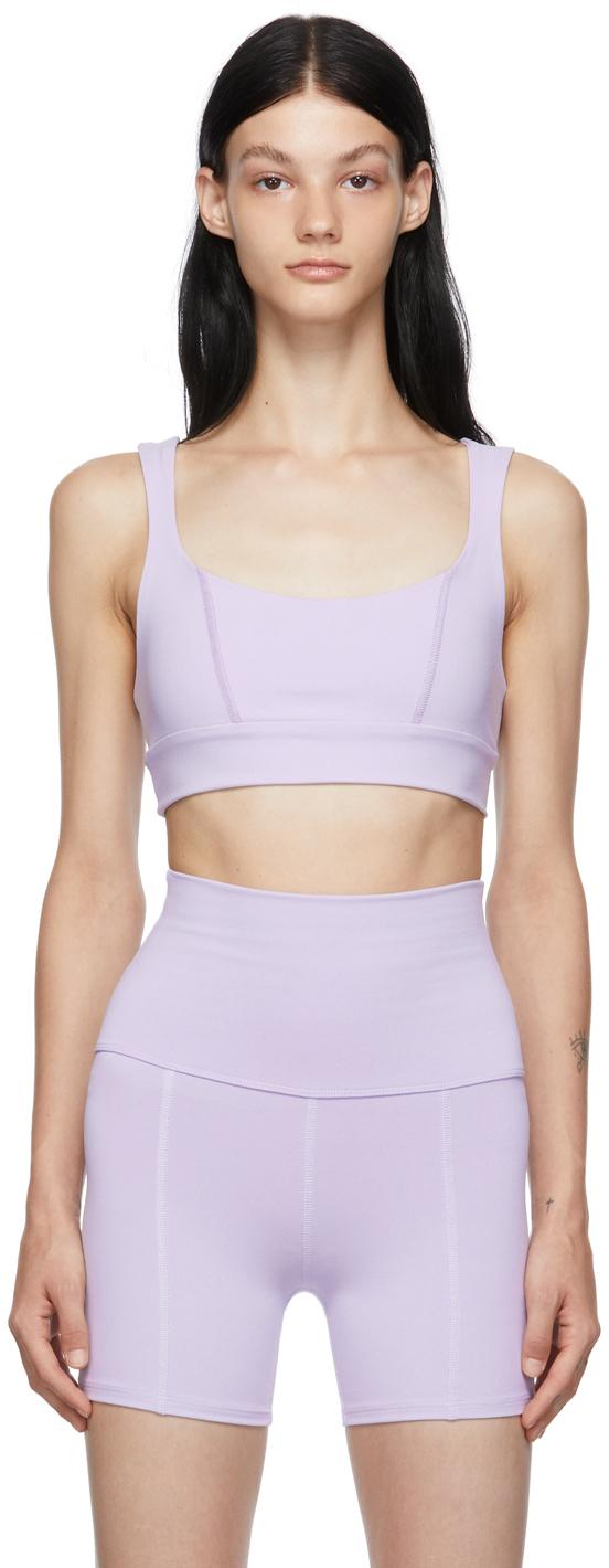 Purple Aura Sports Bra