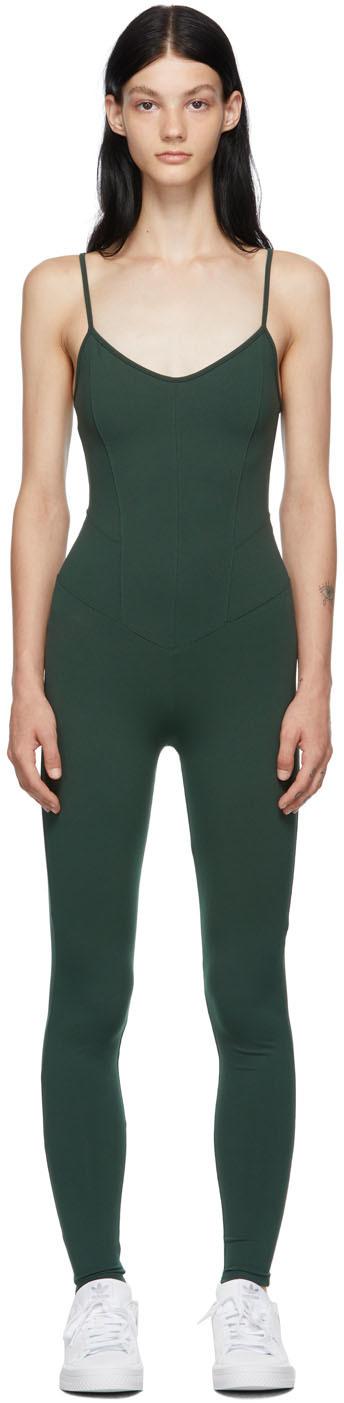 Green Corset Bodysuit