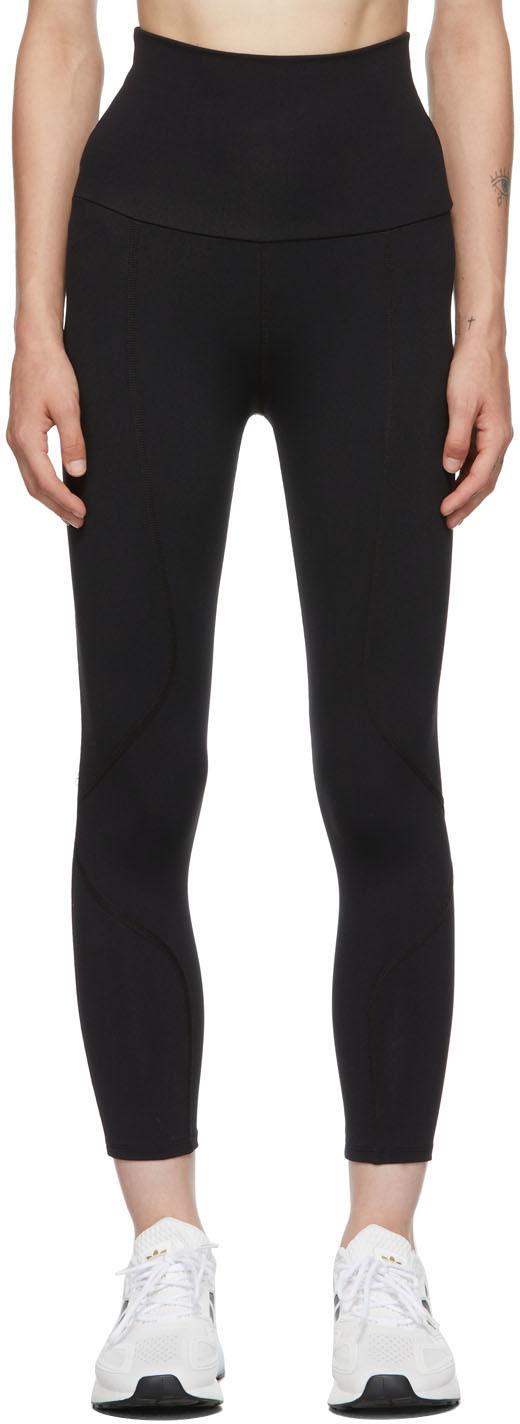 Black Geometric Leggings