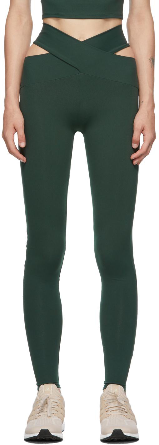 Green Orion Leggings