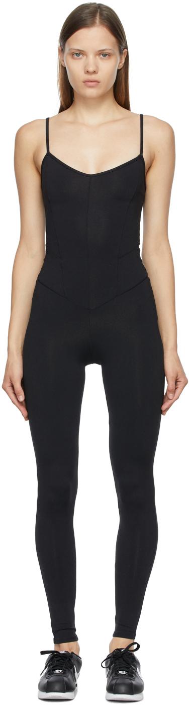 Black Corset Bodysuit