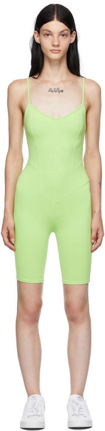 Green Corset Playsuit