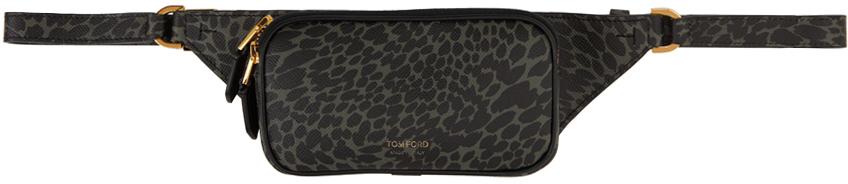Green Animal Lifestyle Zip Belt Bag