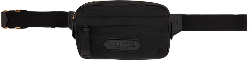 Black Logo Belt Bag