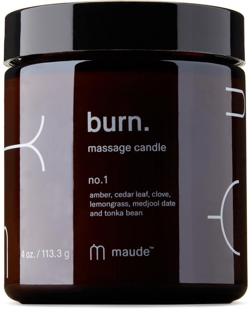 Burn No. 1 Massage Candle