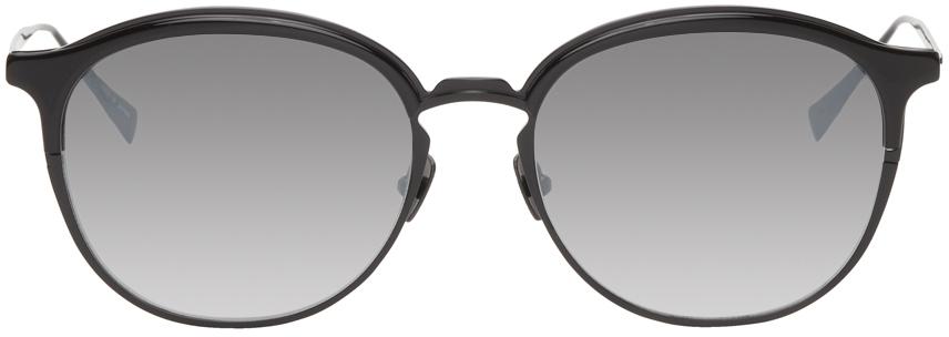 Black Axle Round Sunglasses
