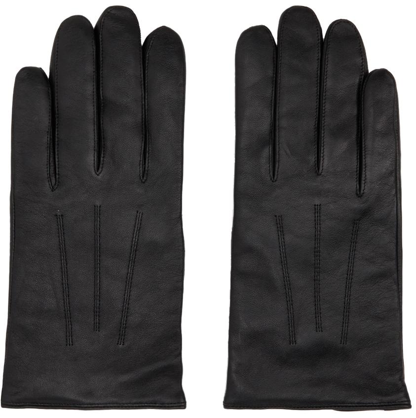 Black Nappa Sheepskin Gloves