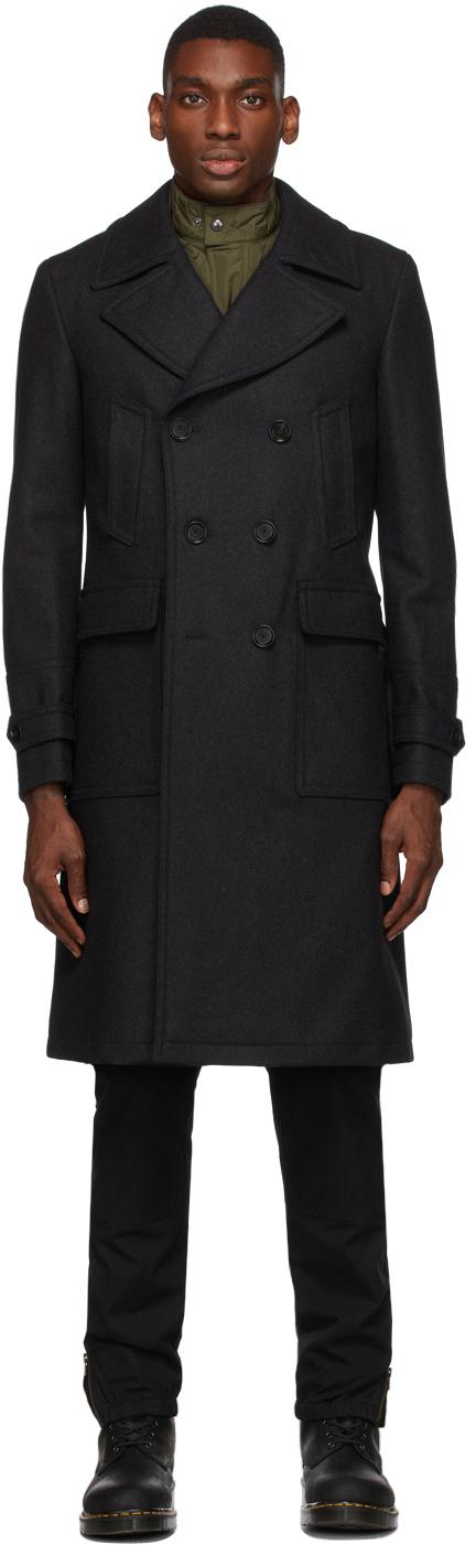 Grey Wool New Milford Coat