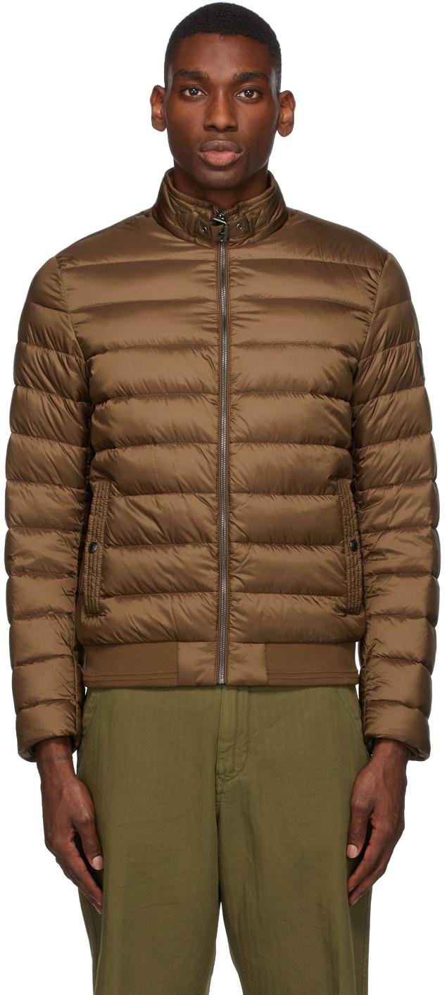 Brown Down Circuit Jacket