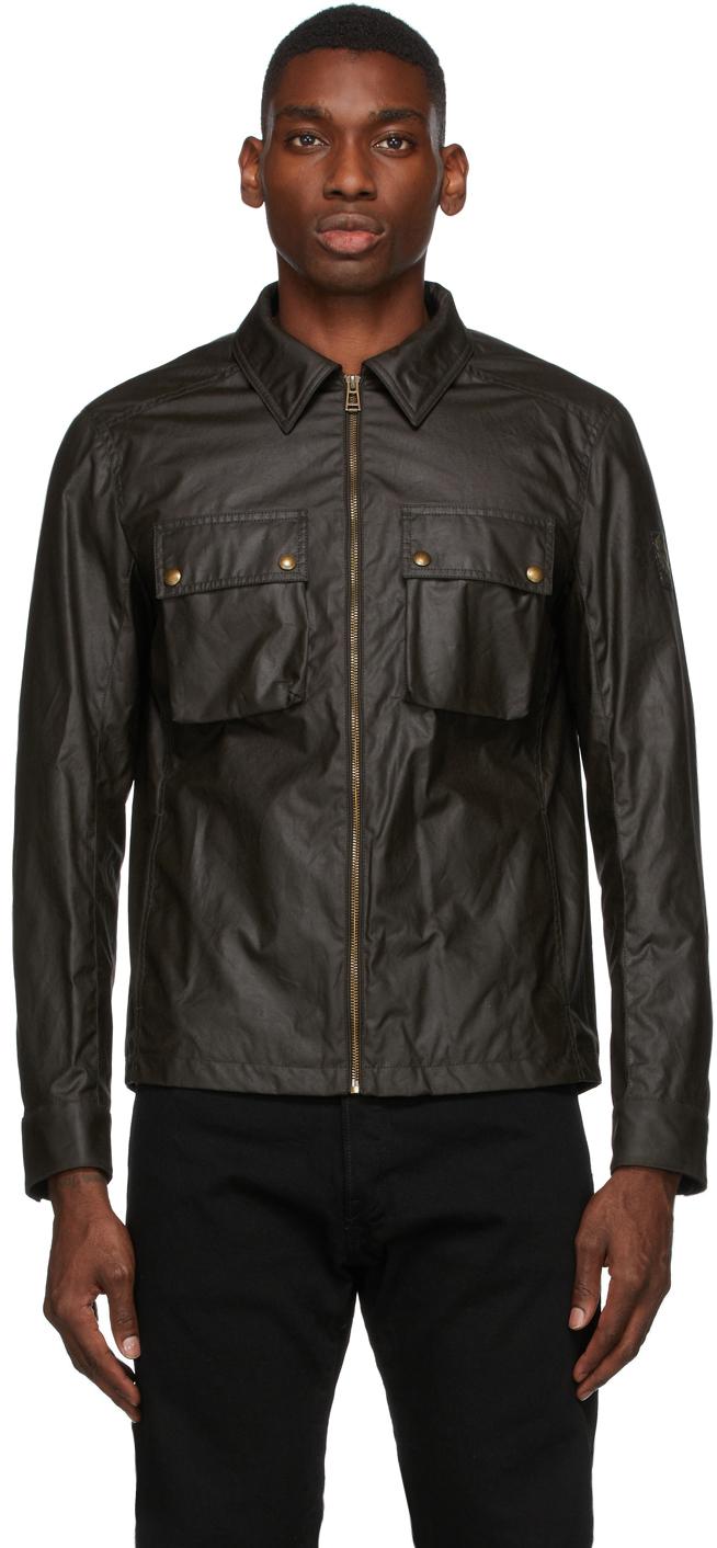Khaki Waxed Dunstall Jacket