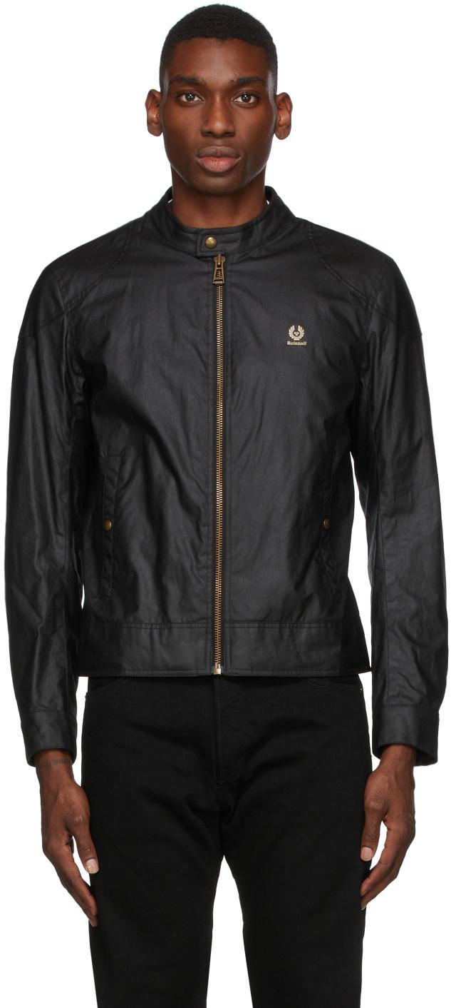 Black Waxed Kelland Jacket