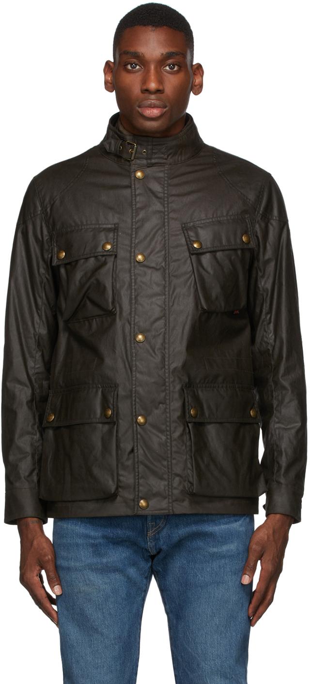 Khaki Waxed Fieldmaster Jacket