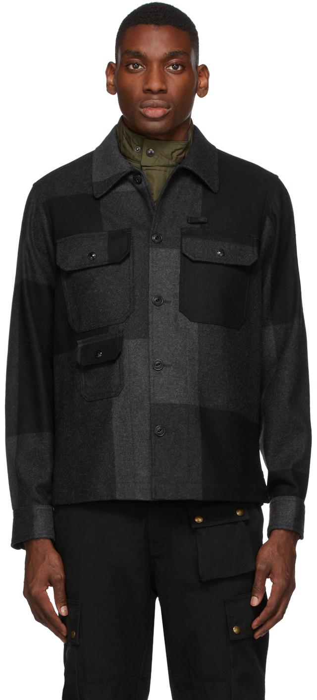Black & Grey Forge Jacket