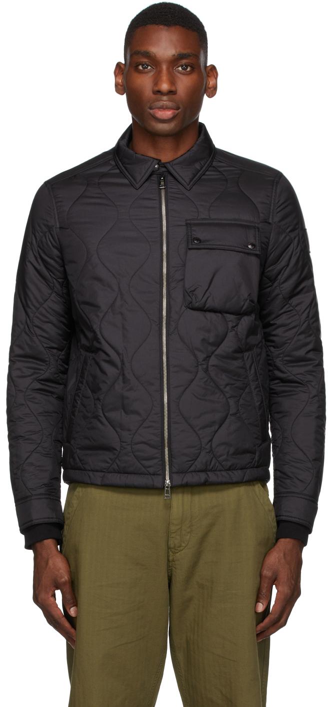 Black Quilted Wayfare Jacket