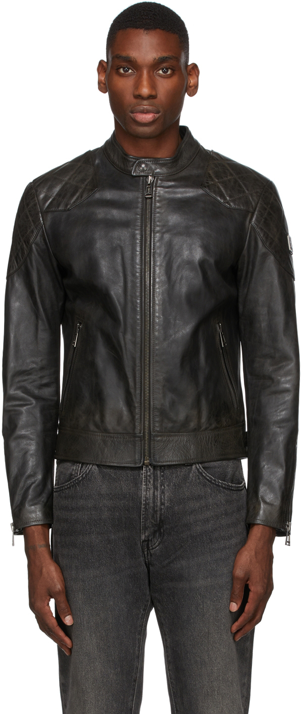 Black Leather Outlaw 2.0 Jacket