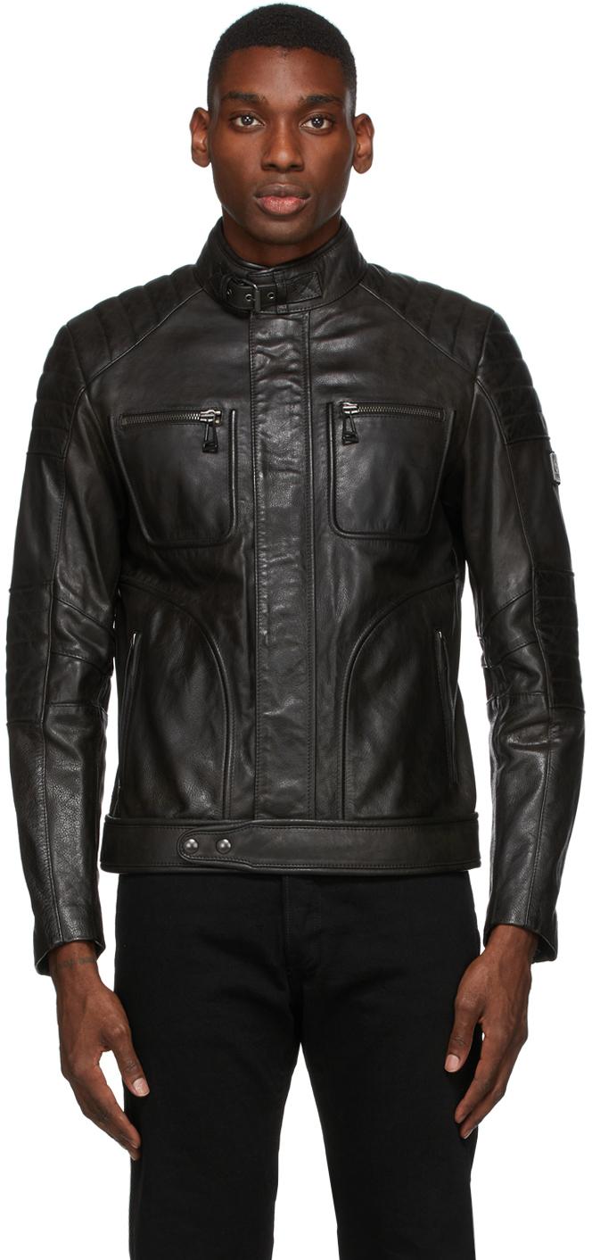 Black Leather Weybridge 2.0 Jacket