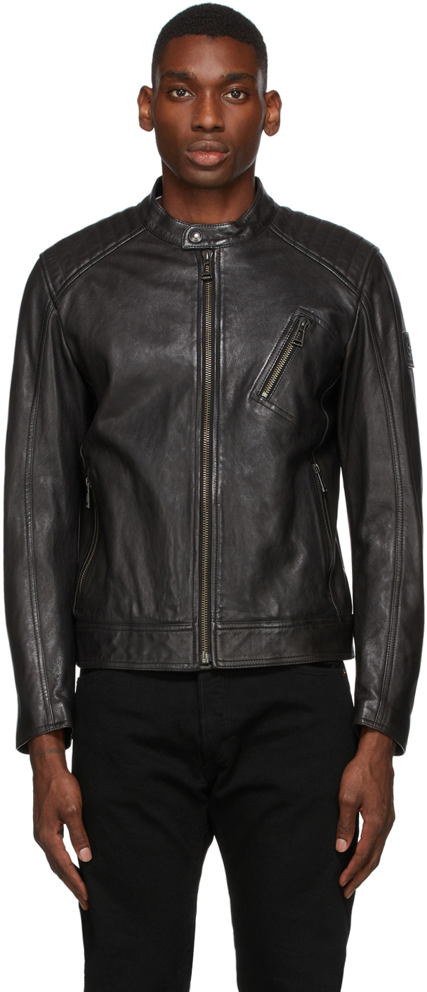 Black Leather Racer 2.0 Jacket