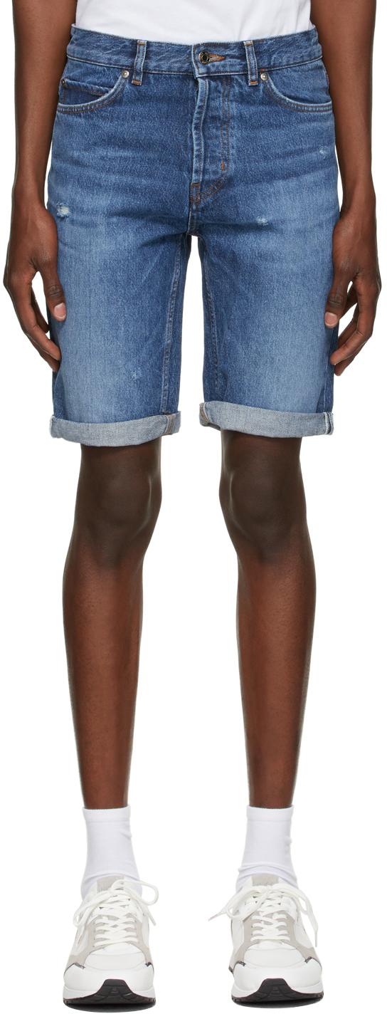 Blue Manifesto Logo Shorts