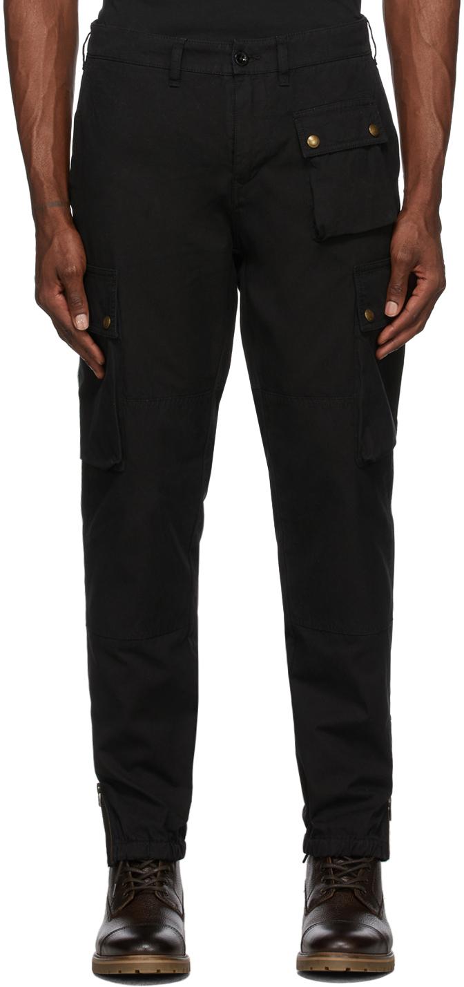 Black Trialmaster Cargo Pants