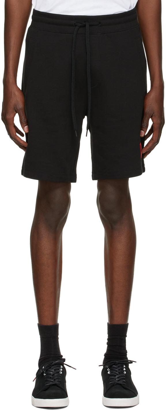 Black Diz212 Shorts
