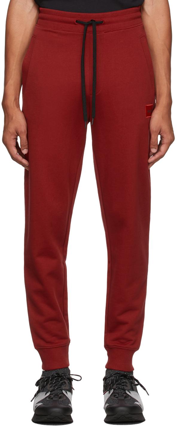 Red Logo Lounge Pants