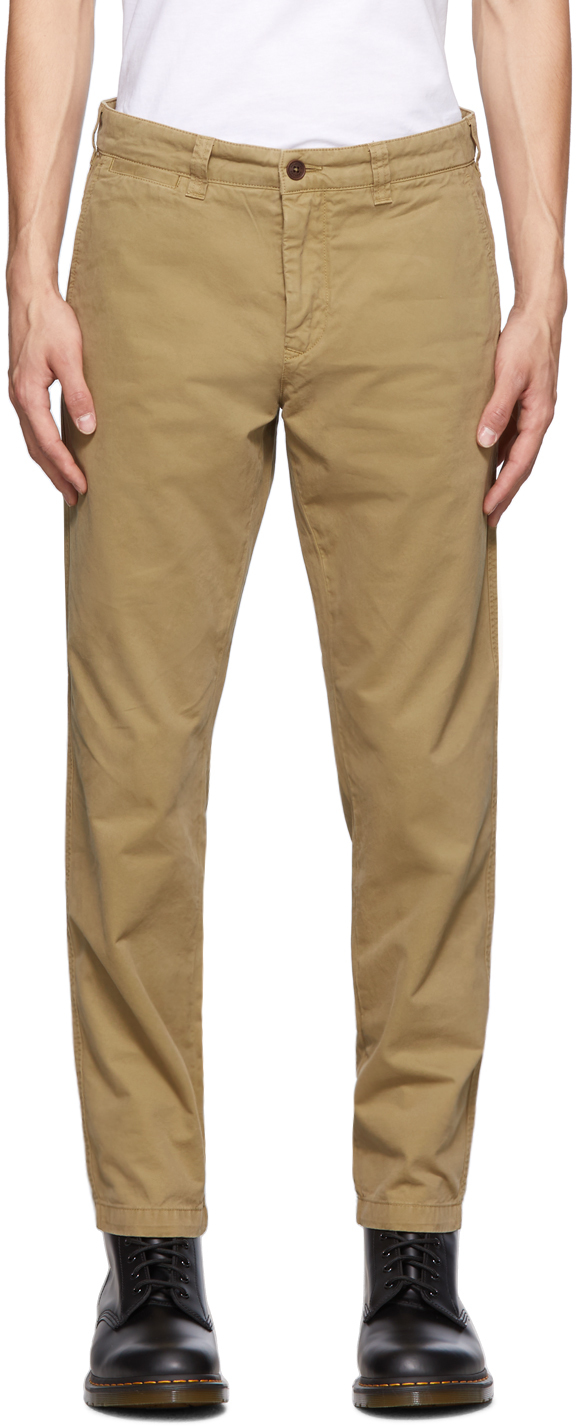 Tan Officers Chino Trousers