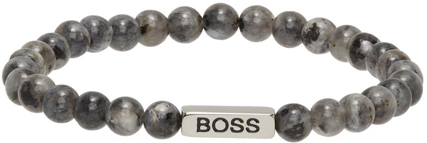 Grey Bob Bracelet