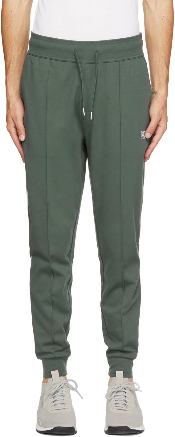 Green Tracksuit Lounge Pants