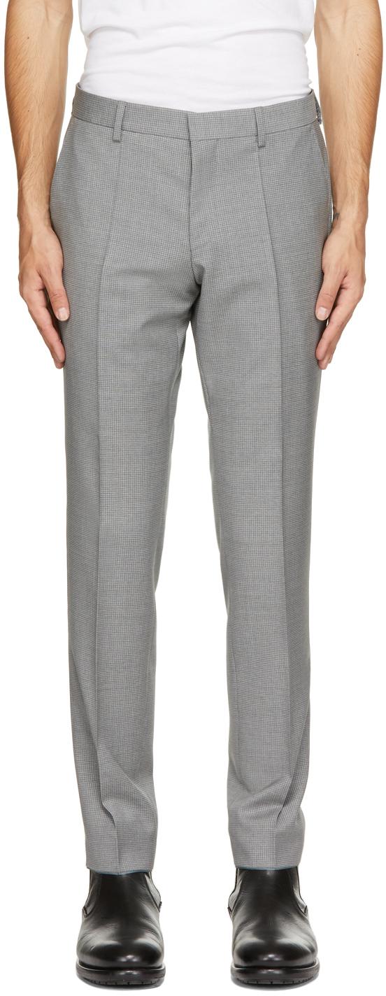 Grey Virgin Wool Genius5 Trousers