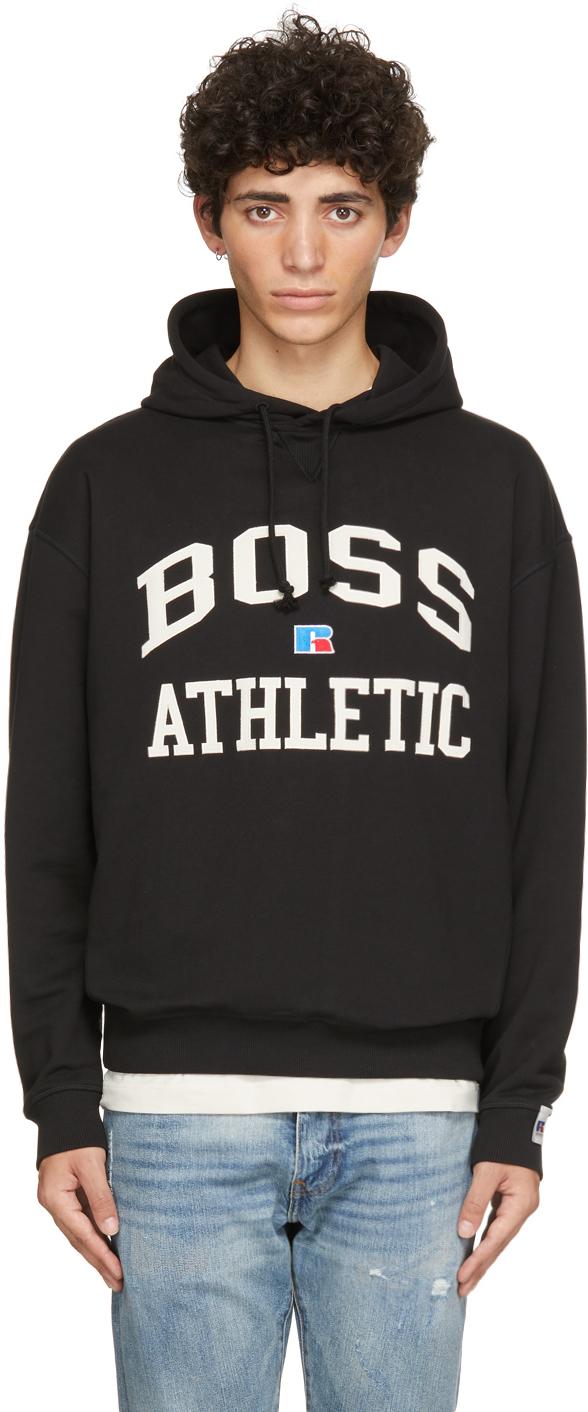 Black Russell Athletic Edition Safa Hoodie