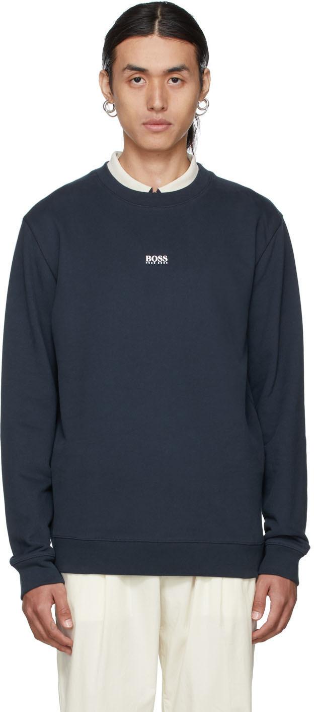 Navy Weevo 2 Sweatshirt
