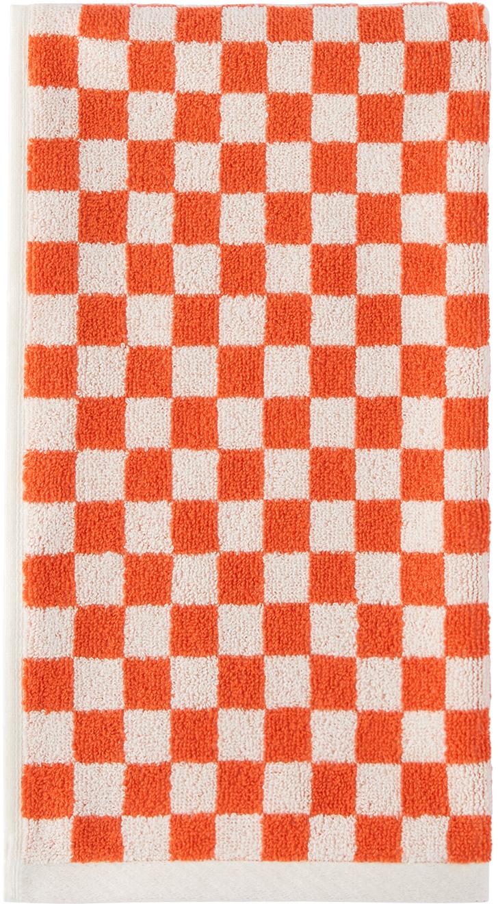Orange & White Josephine Hand Towel