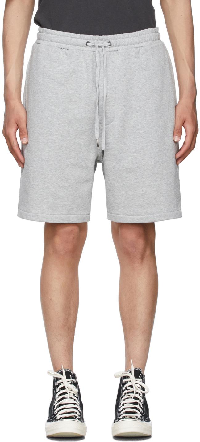 Grey 4 x 4 Trak Shorts
