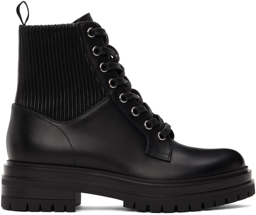 Black Martis Ankle Boots