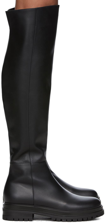 Black Quinn Tall Boots