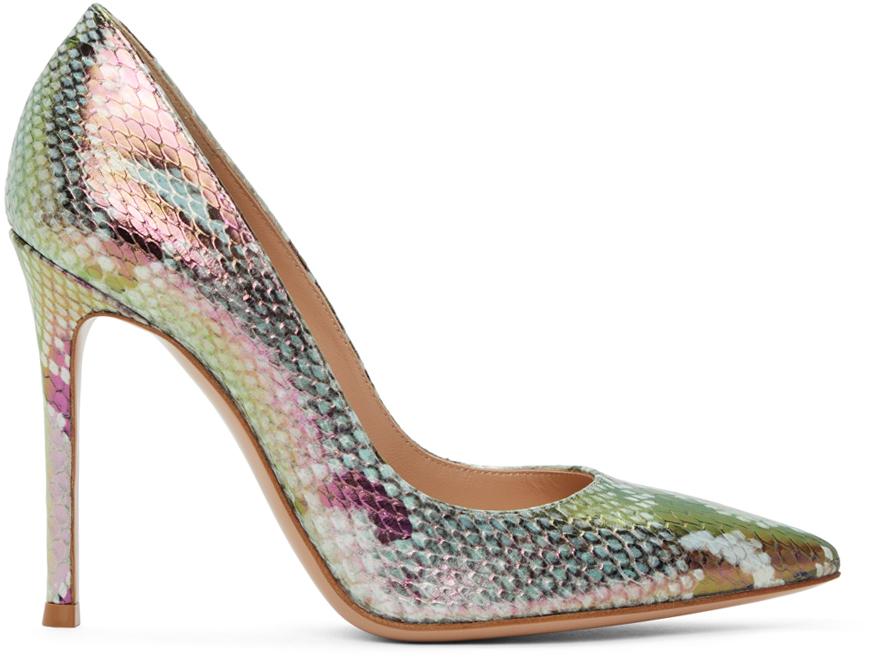 Multicolor Hologram Gianvito 105 Heels