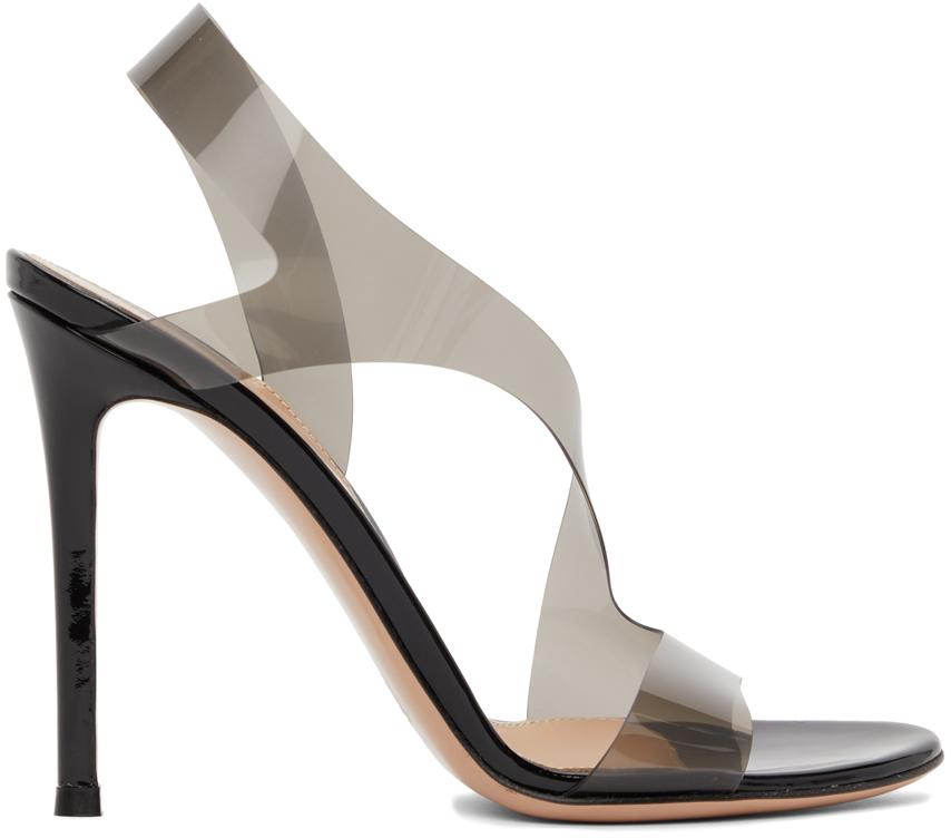 Black Metropolis 105 Heeled Sandals