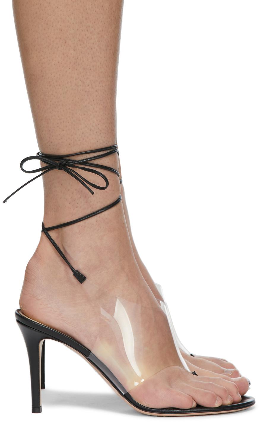 Black Nerea Heeled Sandals