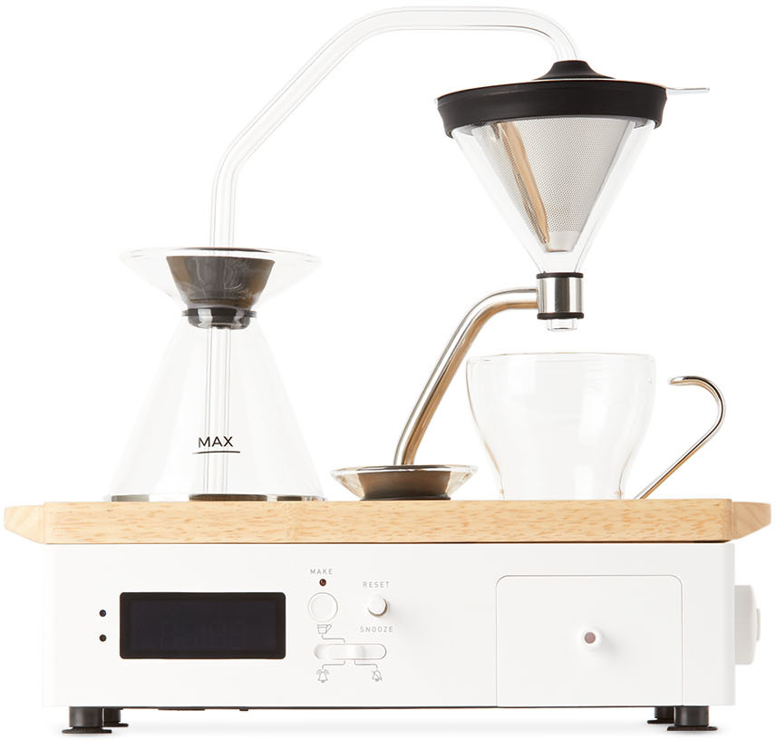 White Barisieur Tea & Coffee Machine