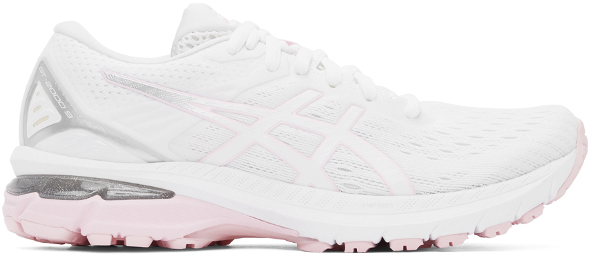 White & Pink GT-2000 9 Sneakers