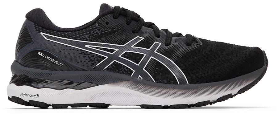 Black & White Gel-Nimbus 23 Sneakers