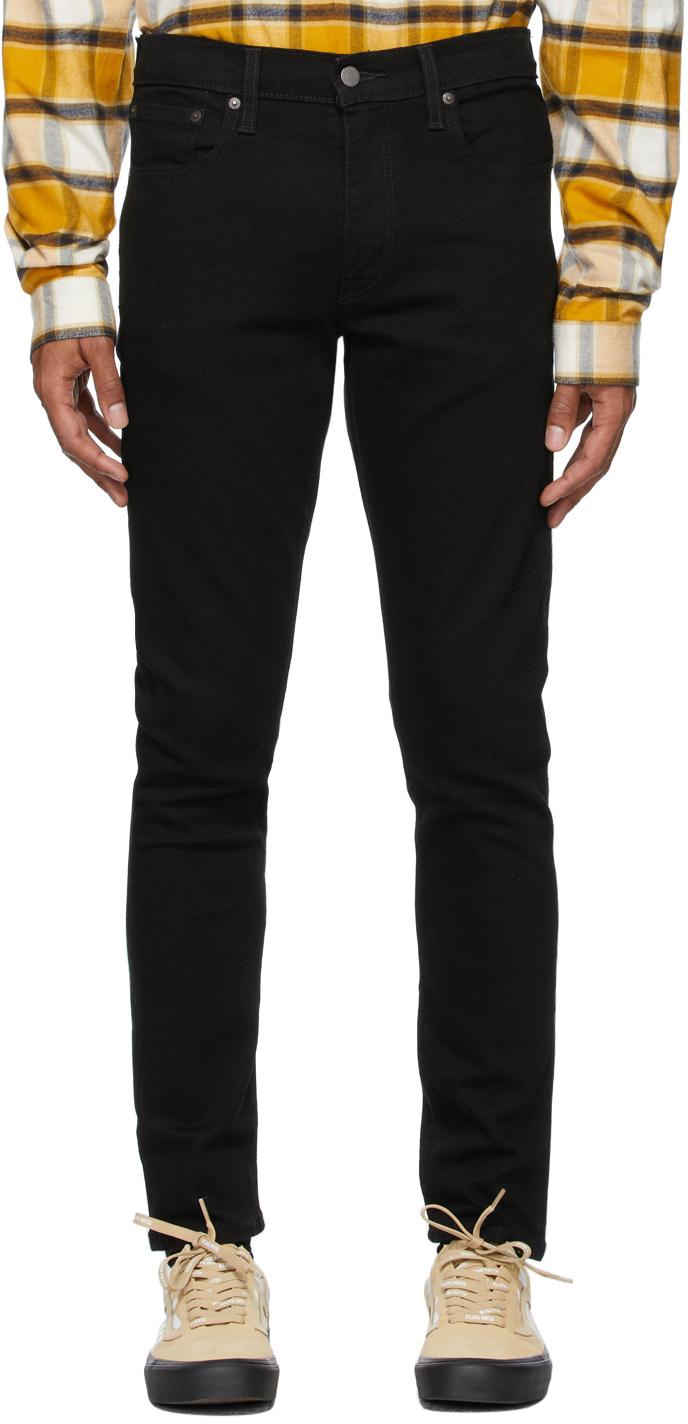Levi's Black 512 Slim Tapered Jeans