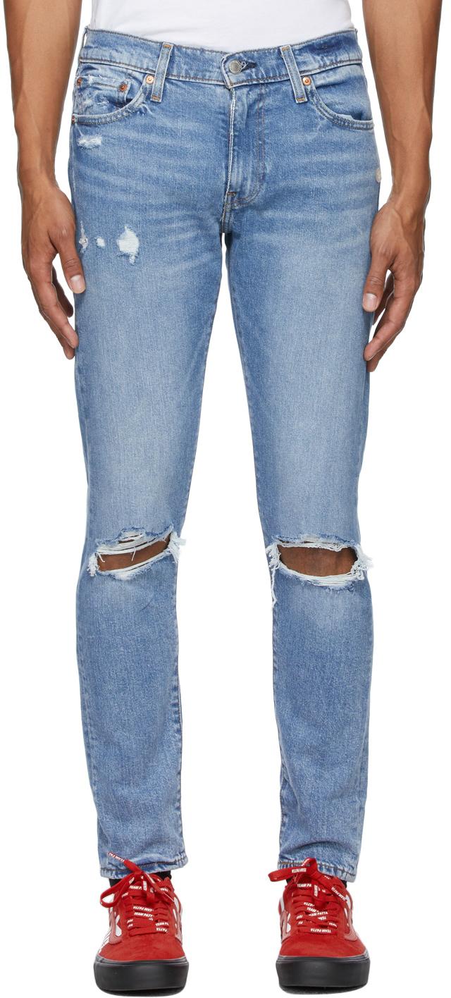 Levi's Blue 512 Slim Taper Jeans