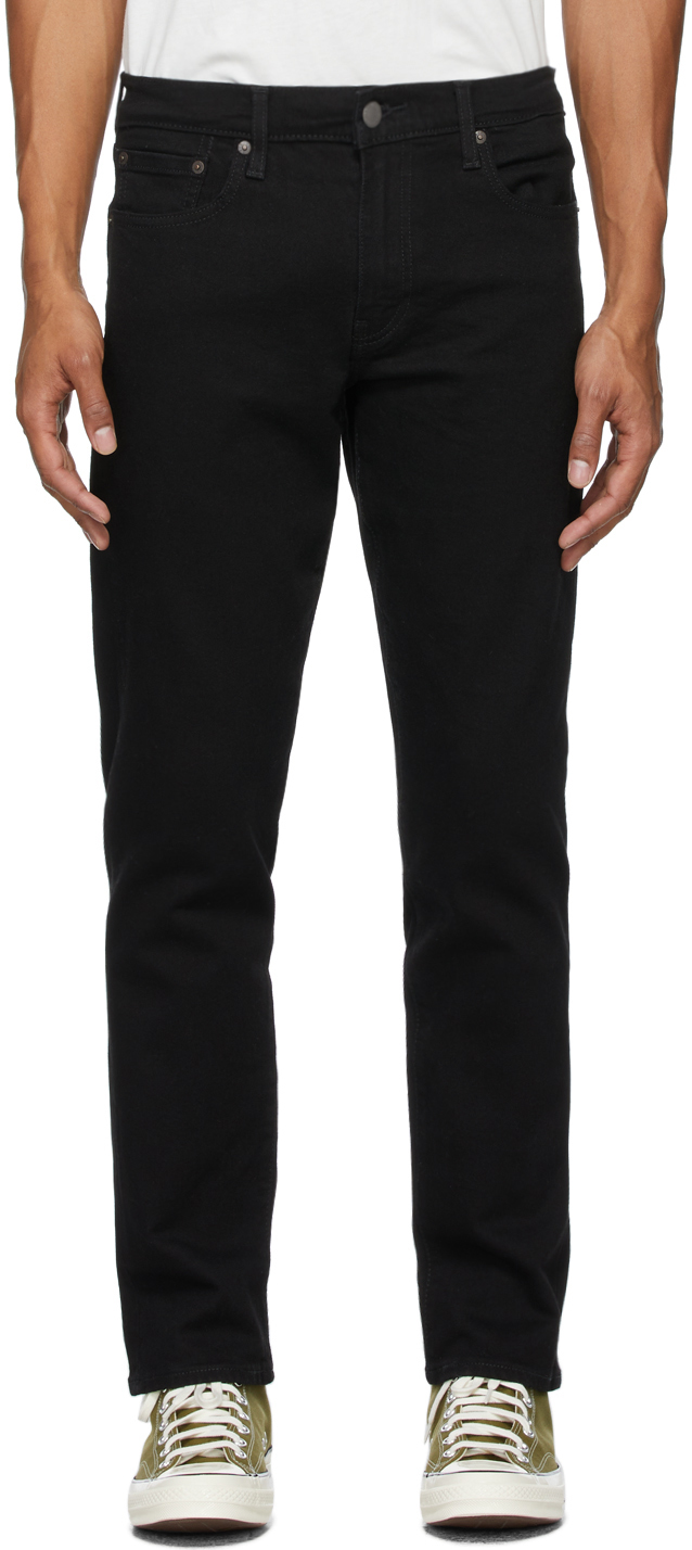 Levi's Black 502 Taper Jeans