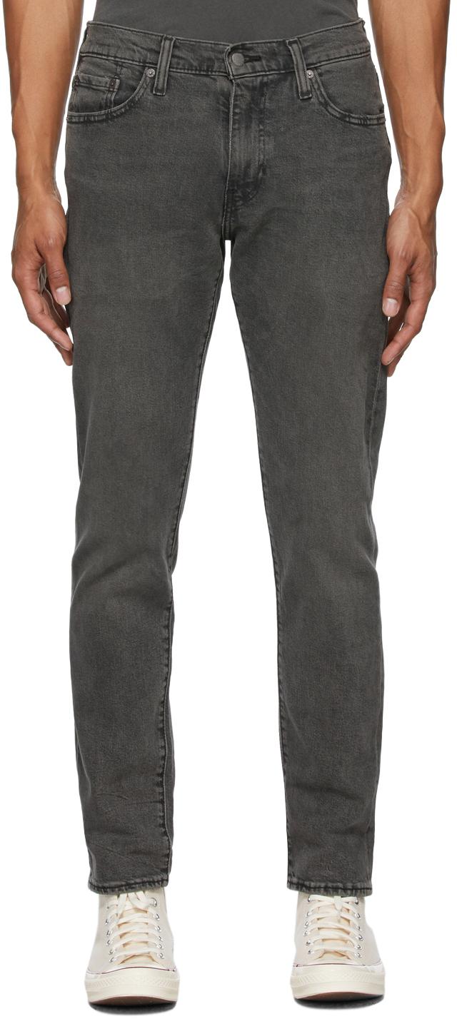 Levi's Grey 502 Taper Jeans